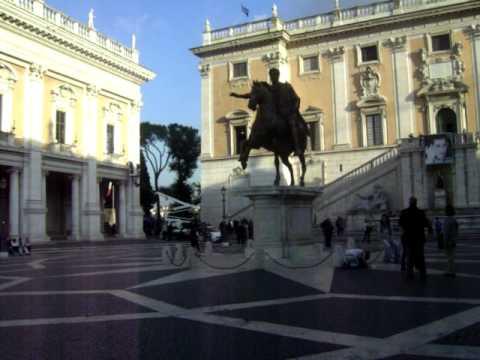 Piazza del Campidoglio / Capitoline Hill - Rome, Italy