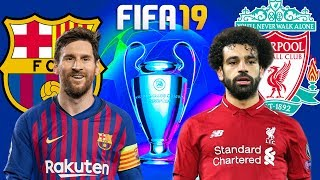 FIFA 19 | บาร์เซโลน่า VS ลิเวอร์พูล | UCL รอบ 4 ทีมสุดท้าย นัดแรก !! AI จะยิงกันเยอะไปไหน