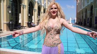 Bellydancer Liz Leyla in Dubai - رقص شرقي في دبي