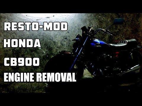 CB900 Engine Tear
