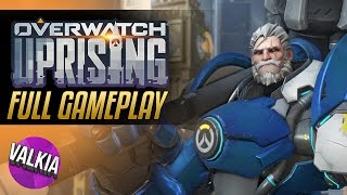 Overwatch Insurrection || Uprising PvE event FULL GAMEPLAY! || Valkia