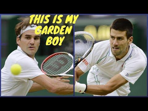 114 - Federer Vs Djokovic - SF Wimbledon 2012 - Ext