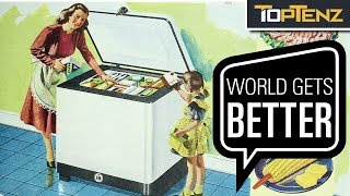 Top 10 Things That Are BETTER Than They Were 50 YEARS AGO
