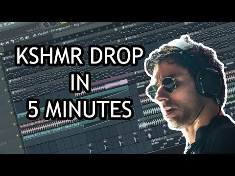 MAKE KSHMR DROP IN 5 MINUTES - [FL STUDIO]