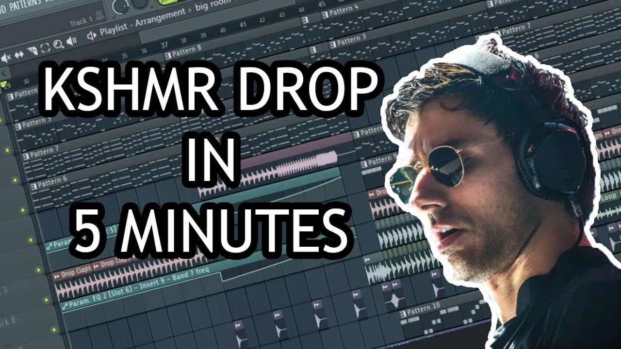 MAKE KSHMR DROP IN 5 MINUTES - [FL STUDIO]