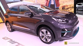 2019 Kia e-Niro 485 km range Electric Vehicle - Exterior Interior Walkaround - 2018 Paris Motor Show