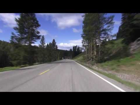 Yellowstone Grand Loop: Tower General Store to Canyon Village