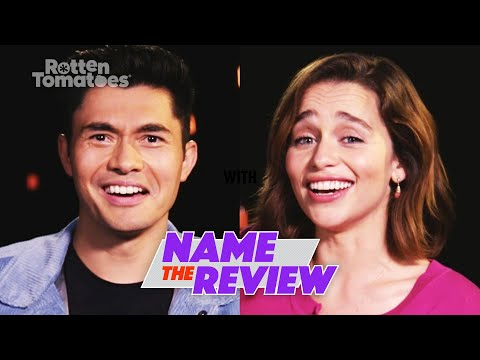 """Last Christmas's Emilia Clarke and Henry Golding Play """"Name the Review"""": Christmas Edition"""