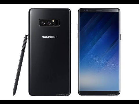And Samsung Galaxy Back Press 8 Render Front Note Leaked