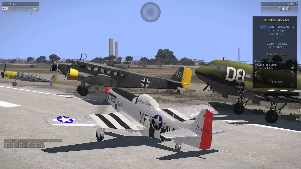 Arma 3 1944 Planes Youtube