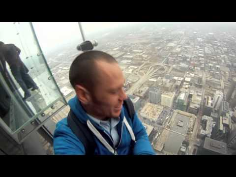 Willis Tower/Sears Tower Sky Deck Walk Through