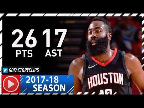 James Harden CRAZY Full Highlights vs Pelicans (2017.12.11) - 26 Pts, 17 Ast, 6 Stls, CLUTCH!