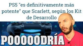 ¡LA CAMPAÑA DE PS5 ES MÁS POTENTE QUE XBOX SCARLETT! - Sasel - rumor - potencia - español