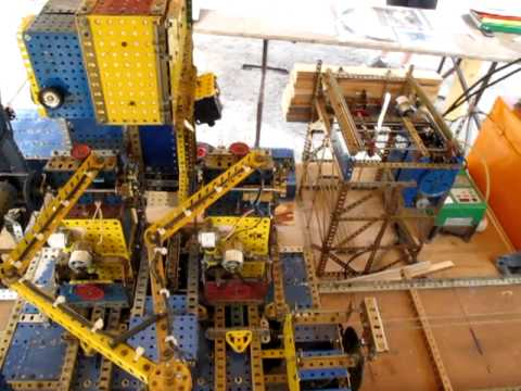 Amazing Erector Set Sawmill 3