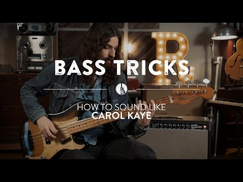 The Carol Kaye Bass Sound & Technique  Reverb Bass Tricks