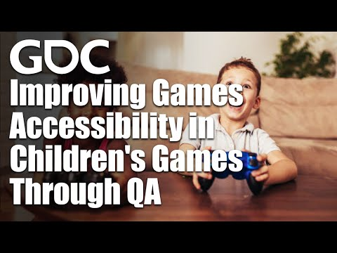 Improving Games Accessibility in Children's Games Through QA
