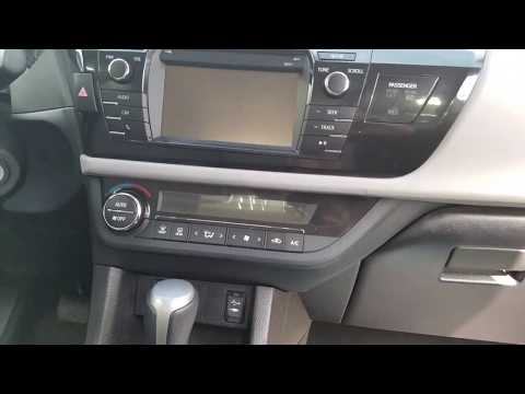 2016 Toyota Corolla Cabin Air Filter Location Replace Inspect 2015 2014 DIY