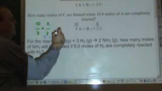 Chemistry Tutorial 8.04:  Stoichiometry