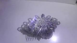 Гребенче-бижу за коса s белгийски кристали Touch of Fashion от AbsoluteRose.com