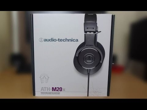 audio technica headphones ath m20x