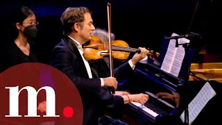 Martha Argerich and Renaud Capuçon perform Beethoven's Sonata for Violin and Piano No. 8 in G Major
