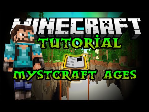 Mystcraft Mod 12/12 (Myst Game Series in Minecraft)