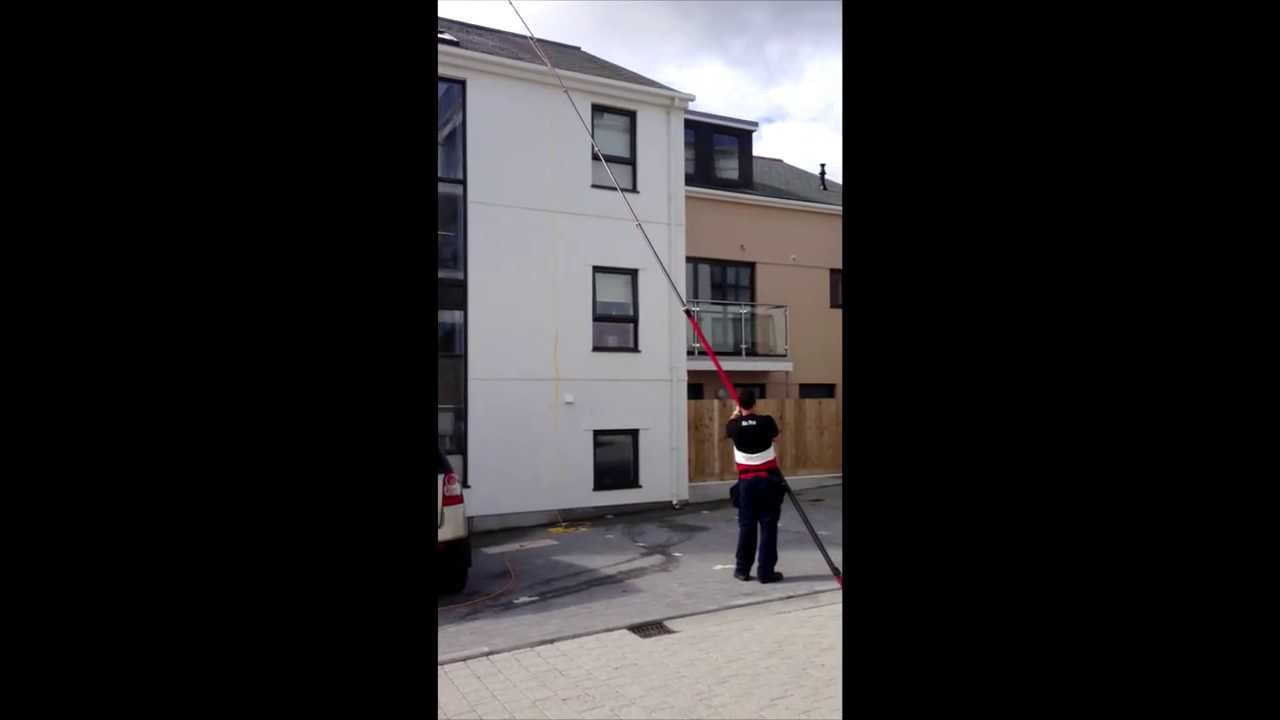 Velux window cleaning. How high?! - YouTube