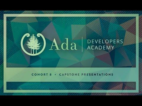 Ada Developers Academy Carets Capstone Presentations