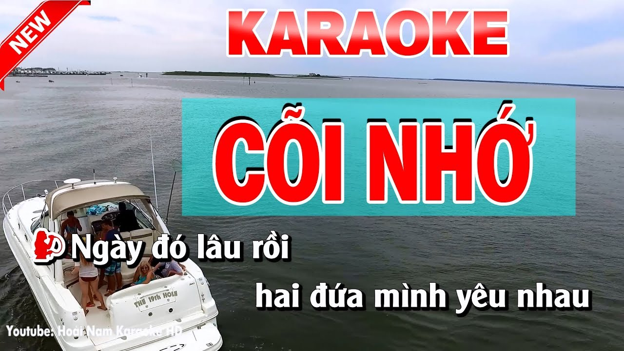 Karaoke Cõi Nhớ ( Bolero ) - coi nho karaoke nhac song