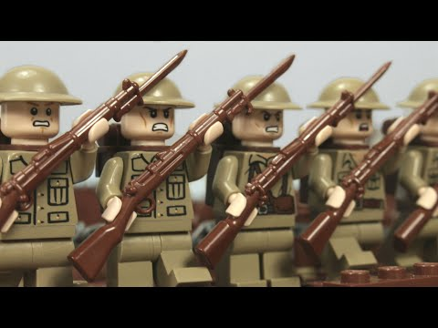 Lego WW1 - The Battle of the Somme - stopmotion