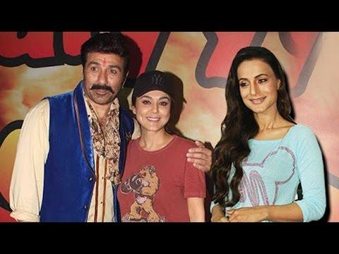 Sunny Deol, Preity Zinta & Ameesha Patel In  Bhaiyyaji Superhitt  On Location | Newsadda