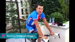 Jiri Jezek - Easy training routine, Paralympics 2012