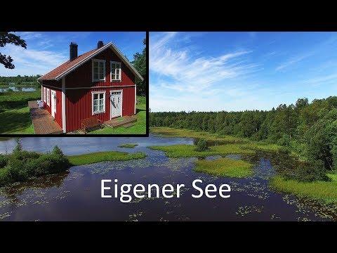 Schweden Ferienhaus Am See Mit Boot - Von Privat