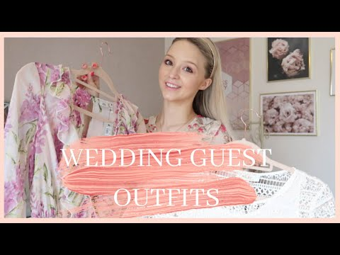 WEDDING GUEST OUTFIT INSPO // H&M, REISS, ASOS, RIVER ISLAND, TOPSHOP // April's London Style Diary