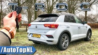 VW T ROC 2.0 TSI 4Motion R LINE REVIEW POV Test Drive by AutoTopNL Video