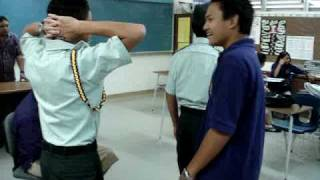ROTC training in GW guam