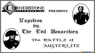 The Battle of Austerlitz gameplay (PC Game, 1989)