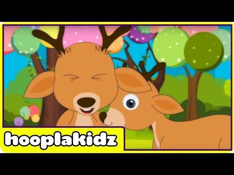 Round and Round the Garden | Nursery Rhymes by Hooplakidz