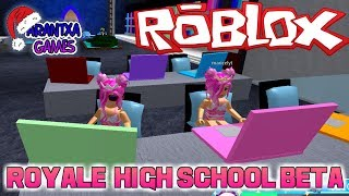 Roblox Royale High School Beta con mi madre - Arantxa Games