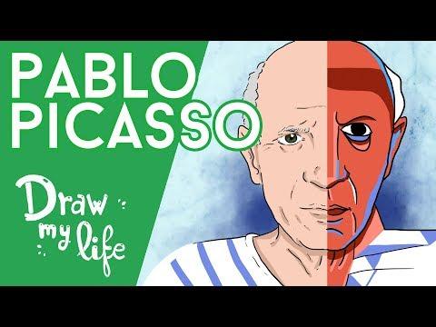 PABLO PICASSO, el artista que CAMBIÓ la HISTORIA del ARTE - Draw My Life