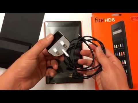 Amazon Fire HD 8 2016 - Unboxing and First Impressions Review