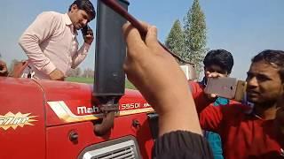 Mahindra Arjun 555 कितना डीजल लेता हैं एक एकड मे 8ft रुटावेटर पर,दोनो लीवर फुल डाऊन करके देखो