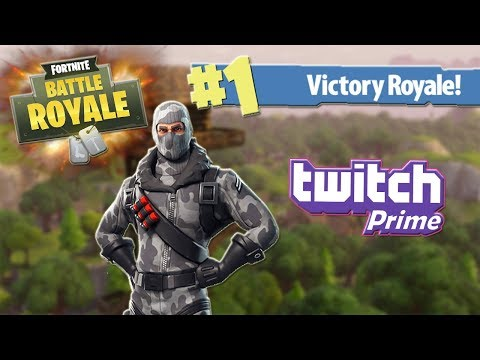 Victory Royale With The Twitch Prime Loot! (Fortnite Battle Royale)