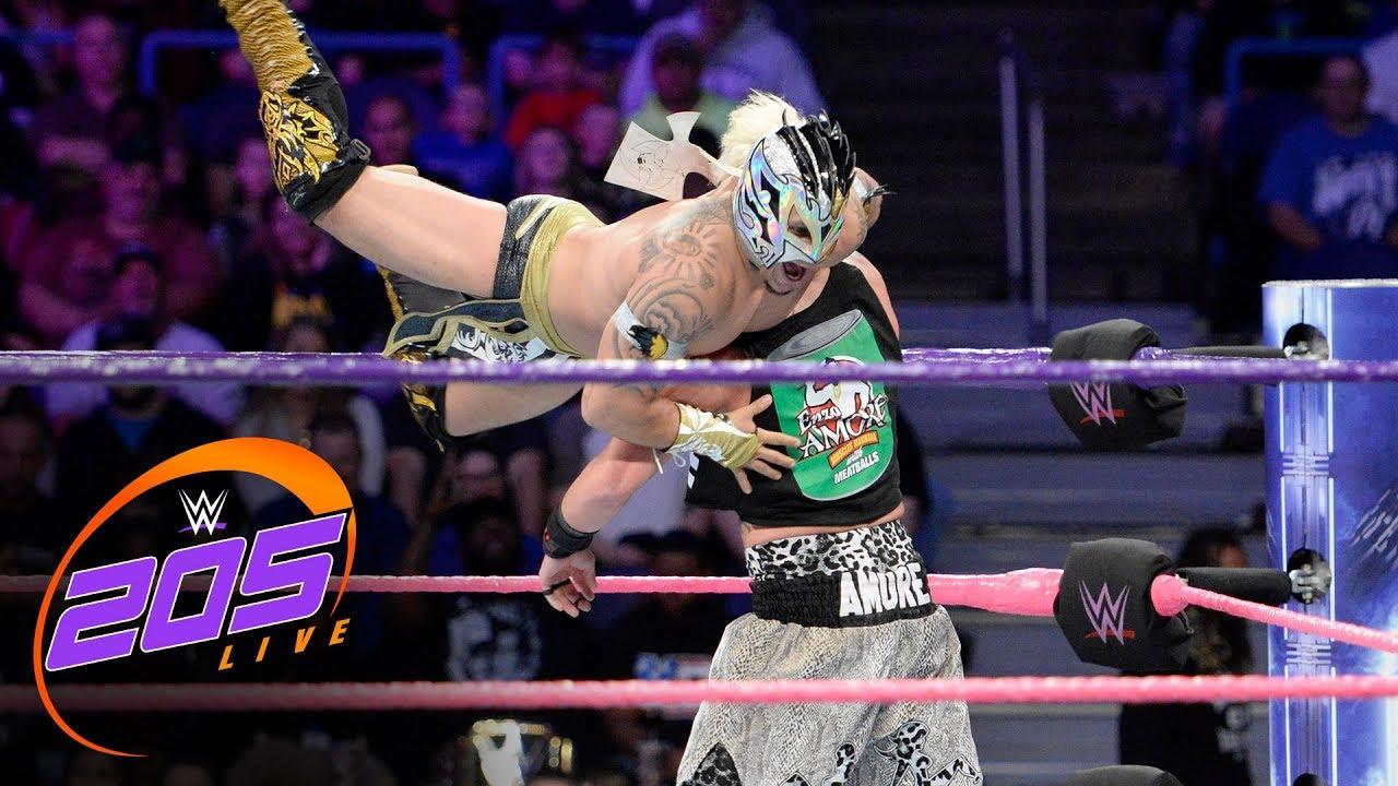 Enzo Amore vs. Kalisto – WWE Cruiserweight Championship Match: WWE 205 Live, Oct. 24, 2017