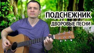 ПОДСНЕЖНИК - КРАСИВАЯ ПЕСНЯ О ЛЮБВИ (ДВОРОВЫЕ ПЕСНИ), аккорды, как играть