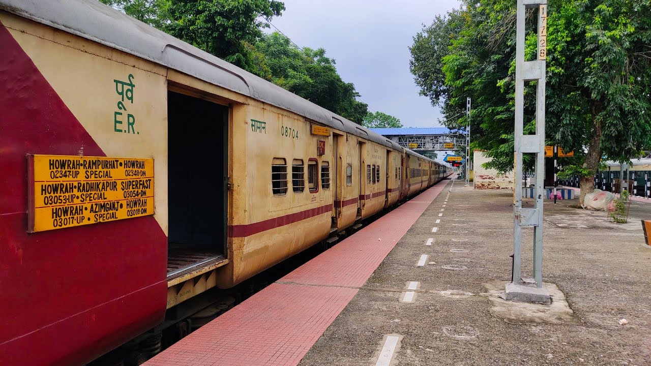 Howrah to Azimganj by Ganadevta Express   Journey coverage post lockdown