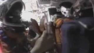 Space Shuttle Columbia Cockpit Footage