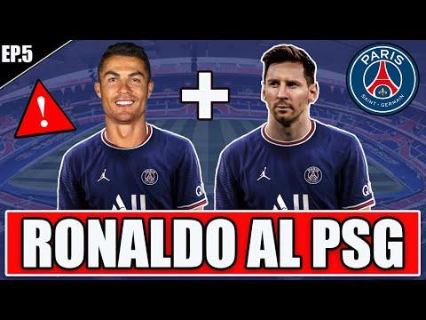 😱 RONALDO AL PSG INSIEME A MESSI! LA COPPIA DEL SECOLO!! FIFA 22 CARRIERA GIOCATORE RONALDO #5