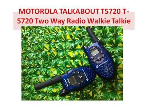 MOTOROLA FV300 2 WAY RADIO BACK REMOVAL