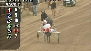 Race 3 Springfield State Fair Harness Racing August 15, 2018 Ivanka